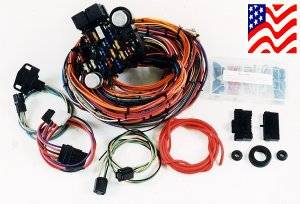 haywire e series wiring harness rh ruttersrodshop com haywire wiring harness for street rod Alternator Wiring Diagram