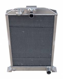 Cooling - 1936 Ford Car Aluminum Radiator for SBC Motor - Image 1