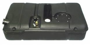 Fuel Tanks and Accessories  - Tanks, Inc. - 1941-48 Ford & 1939-48 Mercury Polyethylene Fuel Tank - 48P