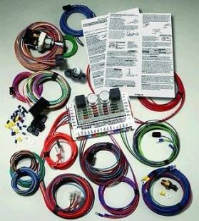 Electrical Components - Ron Francis Wiring - GM Powered Express Wiring Kit - XP-66