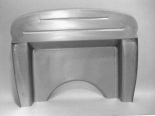 Steel Firewalls and Floors - 1930-1931 Ford Car/Truck Complete Firewall for Small Block