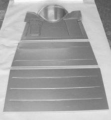 Steel Firewalls and Floors - 1930-1931 Ford Car Complete Floor for Coupe - Image 1