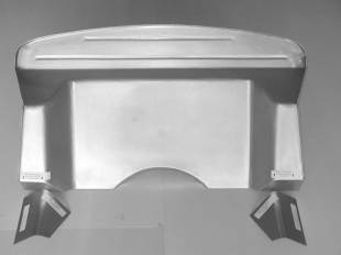 Steel Firewalls and Floors - 1935-1936 Ford Car Complete Firewall for Big Block - Image 1