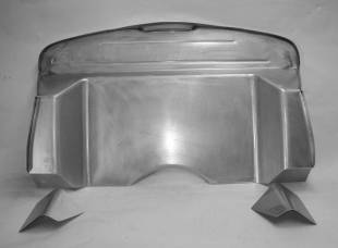 Steel Firewalls and Floors - 1937-1940 Ford Car Complete Firewall for Big Block