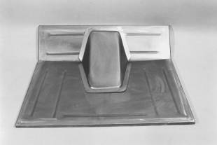 Steel Firewalls and Floors - 1928-1931 Ford Car/Truck Front Floor Section - Stock - Image 1