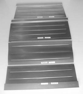 Steel Firewalls and Floors - 1932 Ford Rear Floor for 3 Window Coupe-Smooth - Image 1