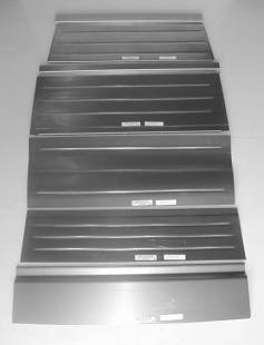 Steel Parts - 1932 Ford Rear Floor for 5 Window Coupe/Roadster-Smooth