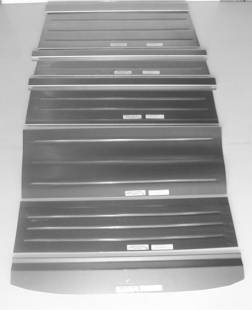 Steel Parts - 1932 Ford Rear Floor for 2dr Sedan-Smooth