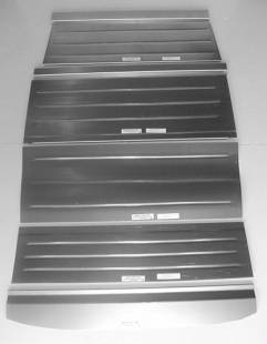 Steel Firewalls and Floors - 1932 Ford Rear Floor for 4dr Sedan-Smooth
