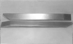 Steel Firewalls and Floors - 1937-1942 Willys Left Hand Sill Plate - Image 1