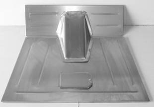 Steel Firewalls and Floors - 1933-1934 Ford Truck Front Floor for Stock Firewall - Image 1