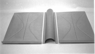 Steel Firewalls and Floors - 1937-1940 Ford Car Rear Floorboard to Seat Riser - Image 1