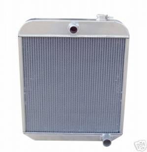 Cooling - 1949-1954 Chevy Car Aluminum Radiator
