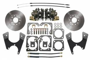 Brakes and Brake Kits - MBM-GM Rear Disc Brake Conversion Kit for 10/12 Bolt Rear End-DBK1012
