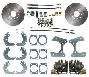 "Brakes and Brake Kits - MBM-Ford 9"" Rear Disc Brake Conversion Kit -DBK9"