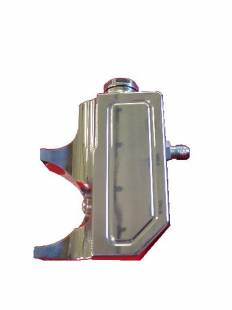 Engine Components - Power Steering Reservoir Billet Aluminum Clip-On Polished - Image 1