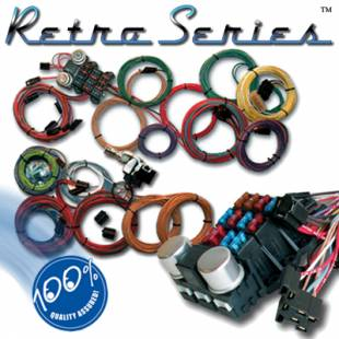 Electrical Components - Ron Francis Retro Series Complete Wiring Harness - Ford WR-75