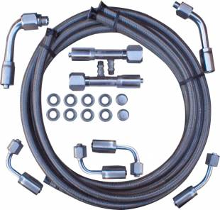 Air Conditioning - Stainless Steel A/C Hose Kit
