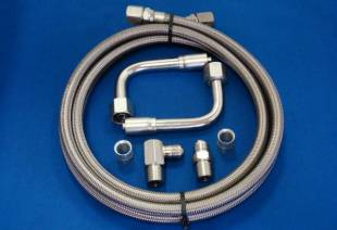 Air Conditioning - Stainless Steel Heater Hose Kit - Image 1
