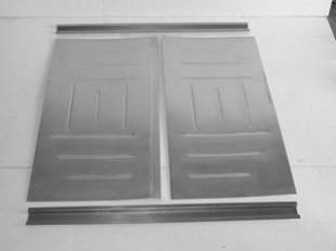 Steel Firewalls and Floors - 1955-1957 Chevy Nomad (Wagon) Rear Deck Floorboard