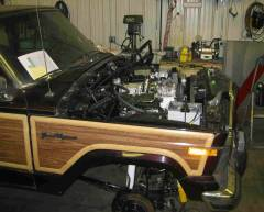1990 Jeep Grand Wagoneer Cover