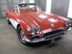 1959 Corvette Partial Build Cover