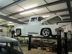 1956 Ford Pick Up Partial Build Cover