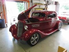 1934 Chevy Coupe Partial Build Cover