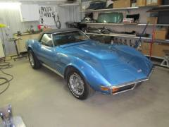 1972 Corvette Repair Cover