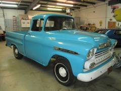 1959 Chevy Apache P.U. Partial Build Cover