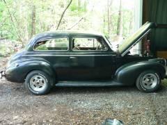 1940 Chevy Sedan Cover