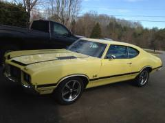 1972 Oldsmobile Cutlass Full Build Cover