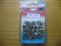 Kugel Komponents (Brake/Clutch Pedal Assemblies) - Accessories - Stainless Steel Single Line Clamps 3/16""