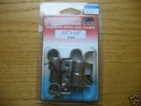 "Accessories - Stainless Steel Double Line Clamps 1/2""-1/2"""