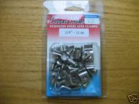 Accessories - Stainless Steel Single Line Clamps 3/4""