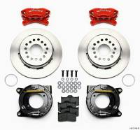 "Brakes and Brake Kits - Red Calipers and 12"" Rotors with Parking Brake - Image 2"