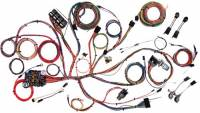 American Autowire - 1964-1973 Ford Mustang - Electrical Components - 1967-1968 Mustang Complete Harness