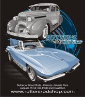 Rutter's Merchandise - Rutter's Rod Shop 1937 Olds and 1966 Corvette
