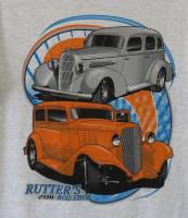 Rutter's Merchandise - Rutter's Rod Shop 1935 Olds and 1933 Chevy