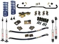 RideTech (Suspension Systems & Air Bags) - Suspension Systems - 1955-1957 Chevy Street Grip System for SBC