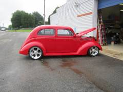 1937 Ford Sedan Partial Build Cover