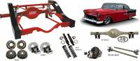 Heidt's Hot Rod Shop (Suspension Systems) - 1955 - 1957 Chevys - Tri-Fives - 1955 - 1957 Chevy Triangulated 4-Link
