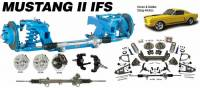 Heidt's Hot Rod Shop (Suspension Systems) - 1964-70 Ford Mustang - Suspension Systems - 1964-1970 Mustang Front Suspension