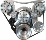 VIPS Engine Pulley Systems - Small Block Dodge
