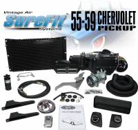 Vintage Air (AC, Heat) - Air Conditioning - 1958-1959 Chevy Truck Gen IV SureFit Complete Kit Deluxe