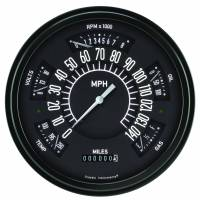 Classic Instruments (Gauges) - 1961-66 Ford F-100 Truck Gauges - 1960-1966 Ford Truck Black