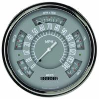 Classic Instruments (Gauges) - 1961-66 Ford F-100 Truck Gauges - 1960-1966 Ford Truck Grey