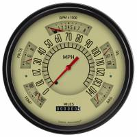 Classic Instruments (Gauges) - 1961-66 Ford F-100 Truck Gauges - 1960-1966 Ford Truck Tan