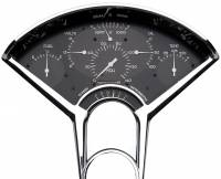 Classic Instruments (Gauges) - 1955-56 Chevy Belair Gauges - 1955-1956 Chevy Black Bel Era I