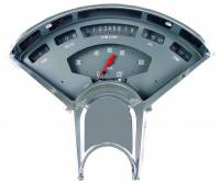 Classic Instruments (Gauges) - 1955-56 Chevy Belair Gauges - 1955-1956 Chevy Grey Bel Era II